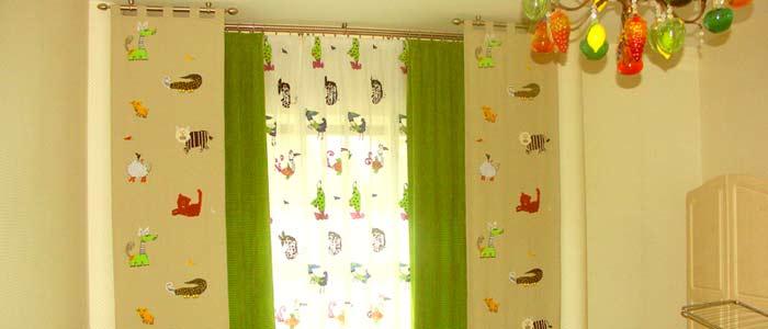 Фотографии штор в детскую комнату