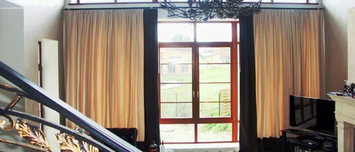 Фотографии штор в гостиную
