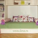 Подушки и покрывало для детской
