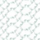 Кружево цветы бирюзовое 295 см