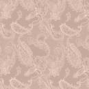 Кружево пейсли розовое 280 см