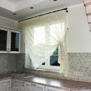 Легкие шторки для кухни