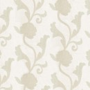 Органза жаккардовая кремовая цветы 290 см