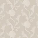 Органза жаккардовая песочная цветы 290 см