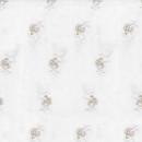 Сетка с вышивкой бежевый 295 см