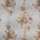 Вуаль с розовыми цветами 280 см