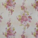 Вуаль с сереневыми цветами 280 см