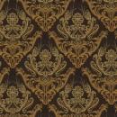 Жаккард дамаск коричневый 140 см