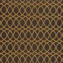 Жаккард решетка коричневый 140 см