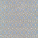 Жаккард решетка тёмно голубой 140 см