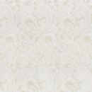 Жаккард с флоком бежевый пейсли 140 см