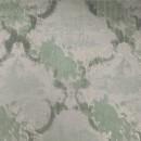 Жаккард с флоком бирюзовый 140 см